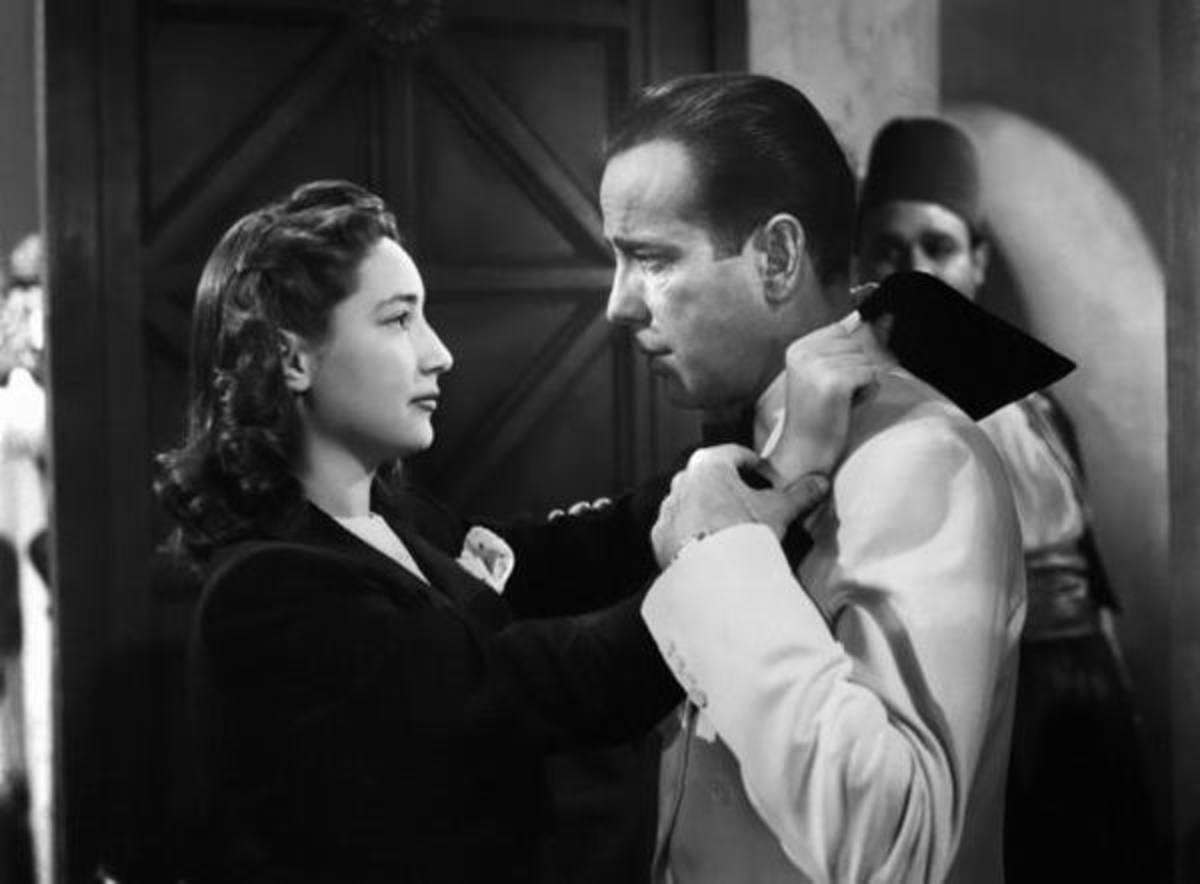 Joy Page with Bogart