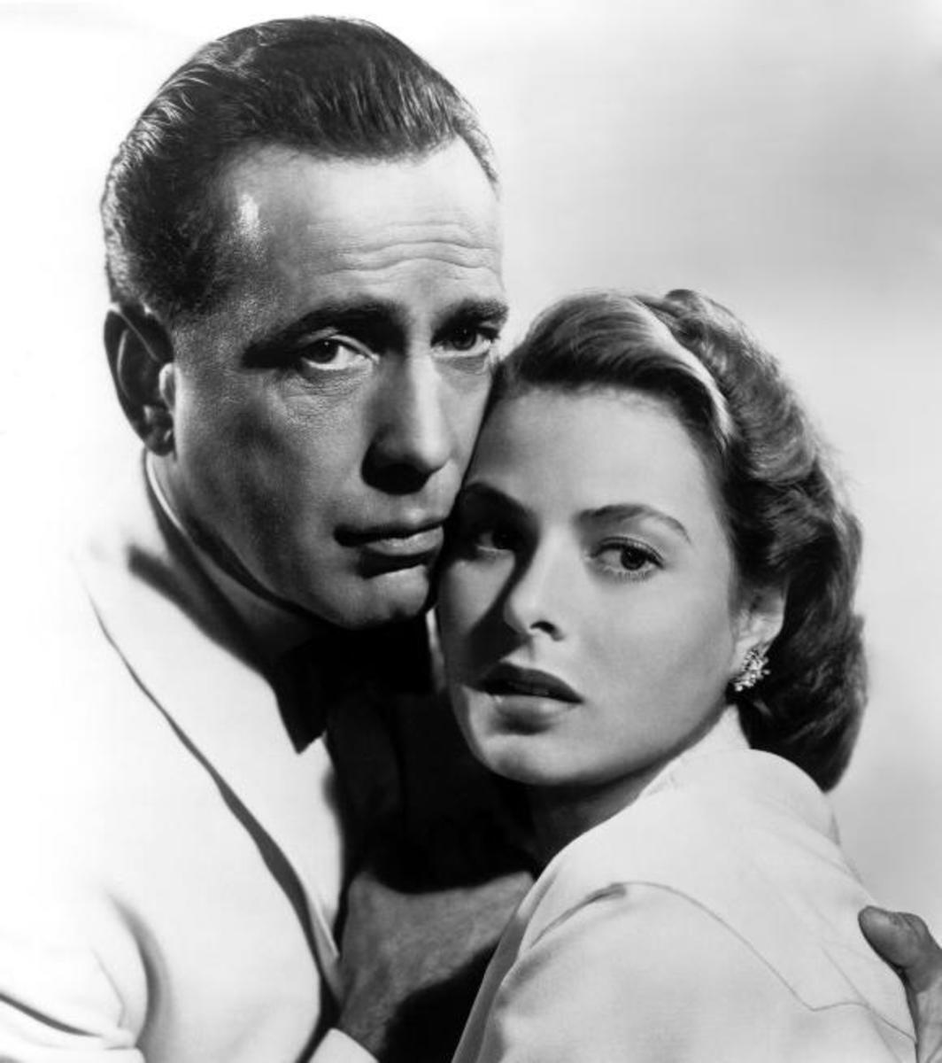 Humphrey Bogart with Ingrid Bergman