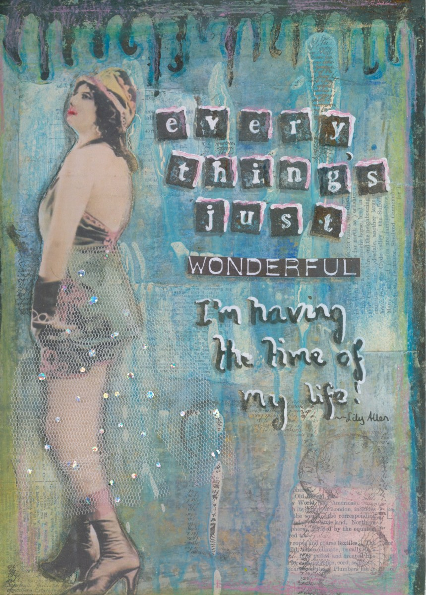 How to Use Mixed Media in Painting