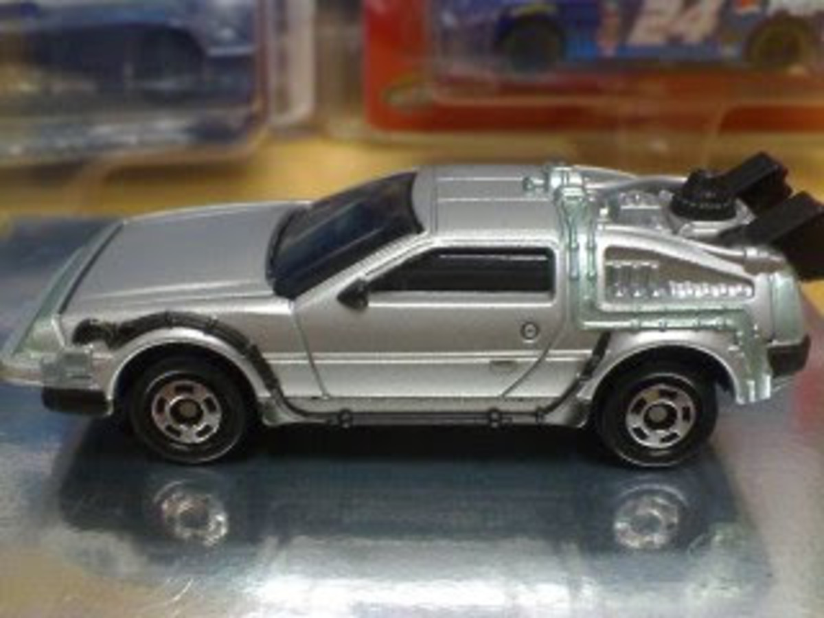 Tomica Exclusive Back To The Future Diecast Replica