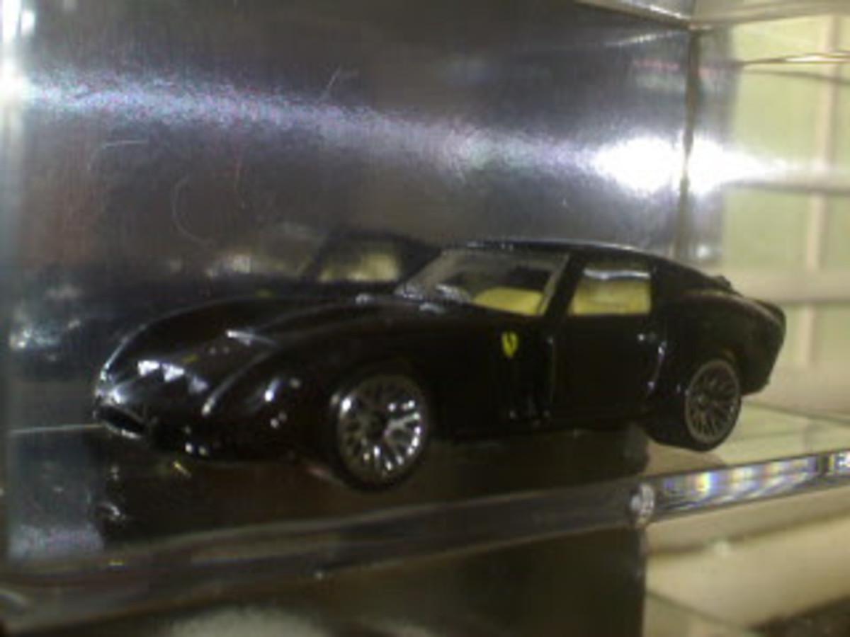 Tom Cruise's black GTO in Vanilla Sky --- Hidden / unofficial Hotwheels movie car
