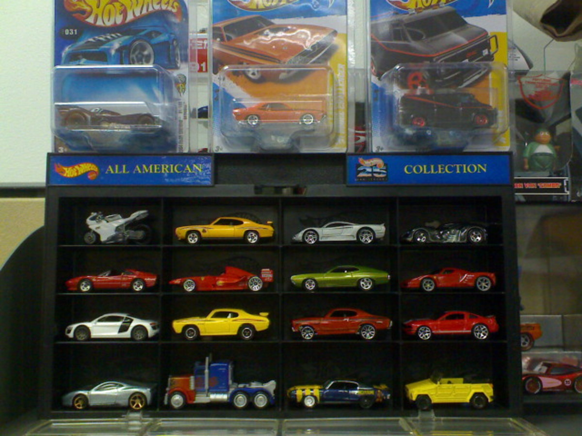 List of Hotwheels Movie Car Diecasts in 1:64 scale - Part 1