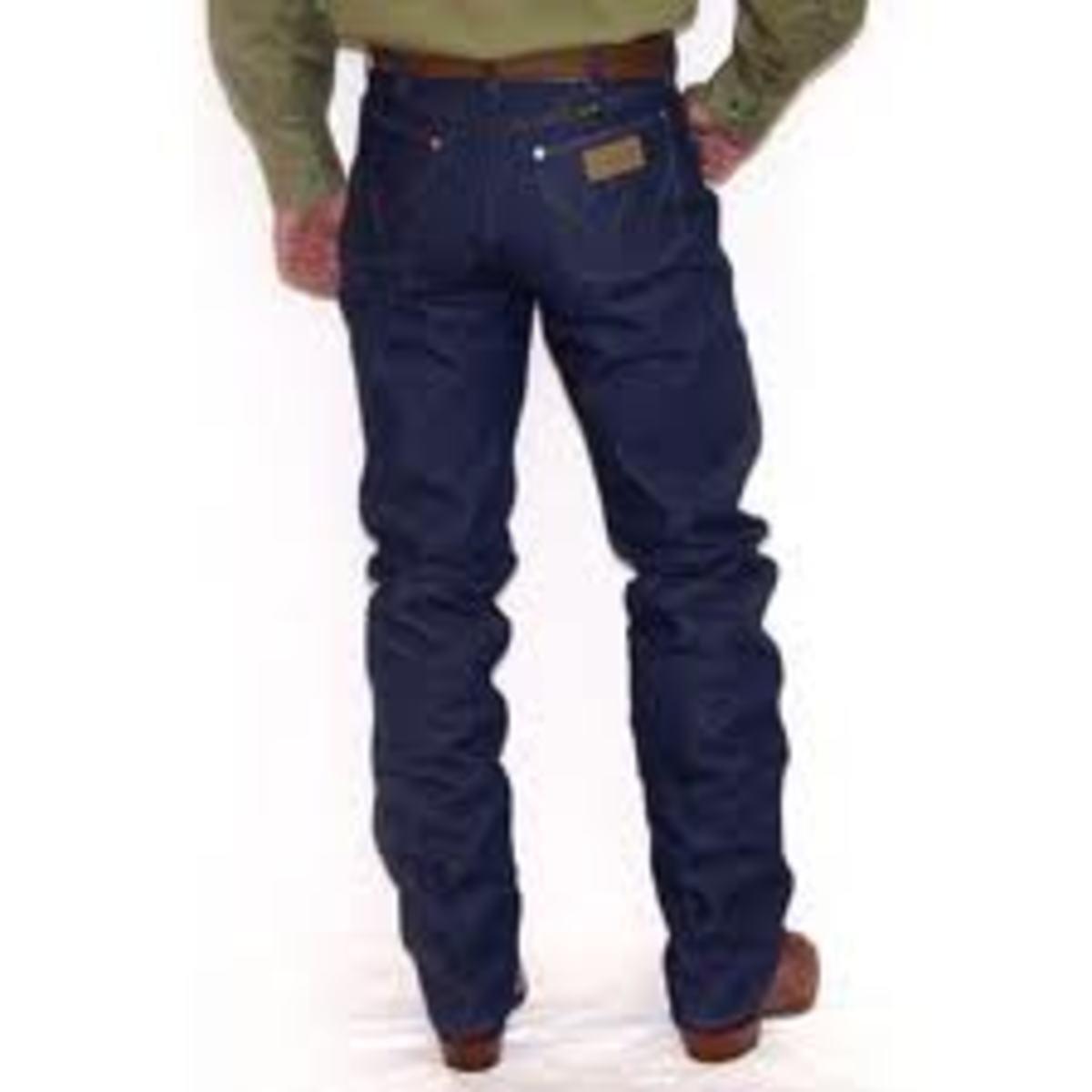 Wrangler Jeans - Popular Jeans in the 80s