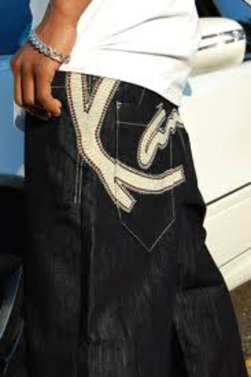 Karl Kani Jeans - Fads from the 80s