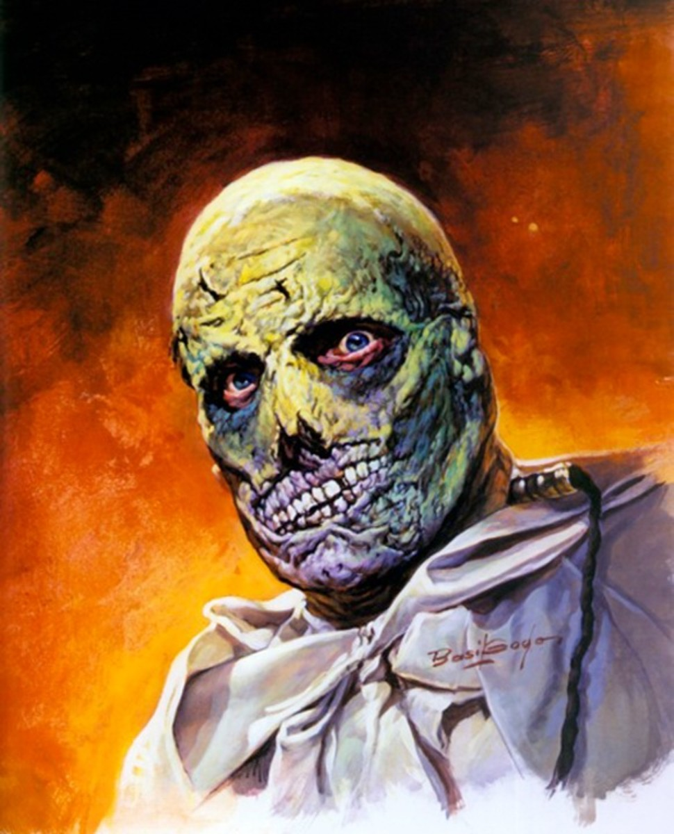 The Abominable Dr. Phibes - art by Basil Gogos