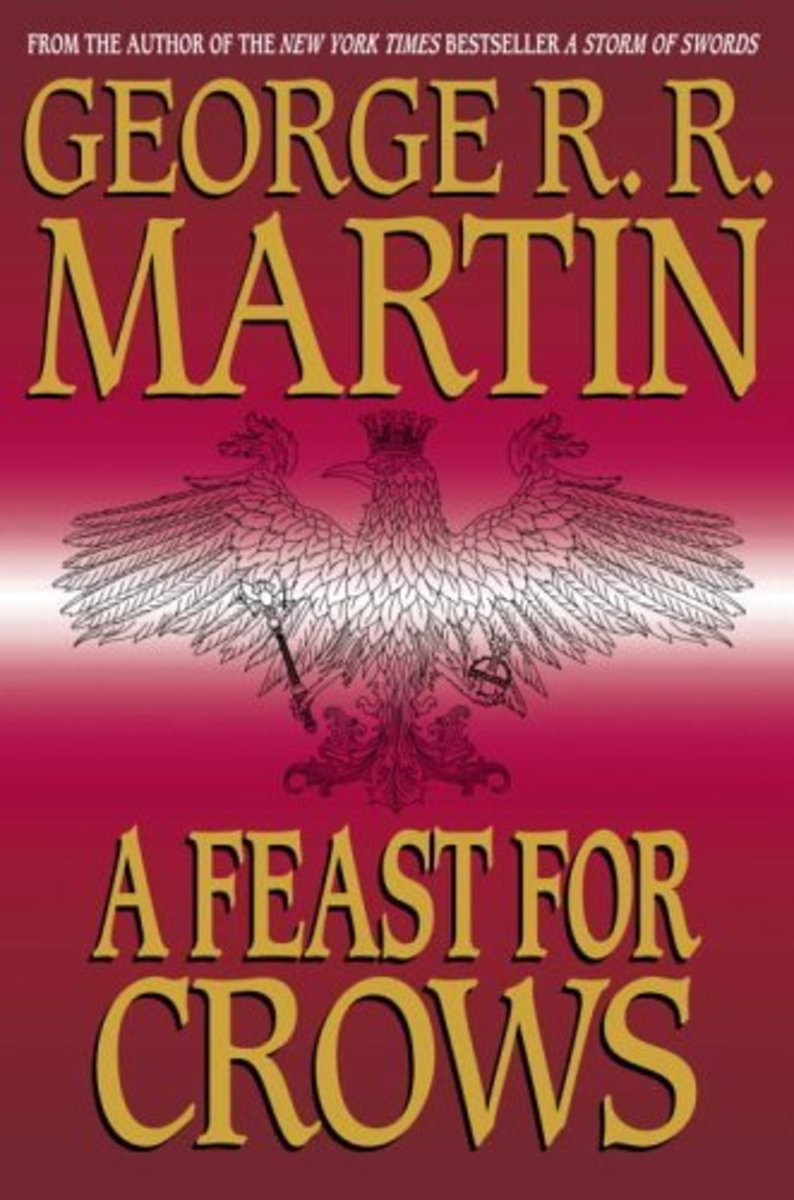 Cover art for A Feast for Crows by George R. R. Martin