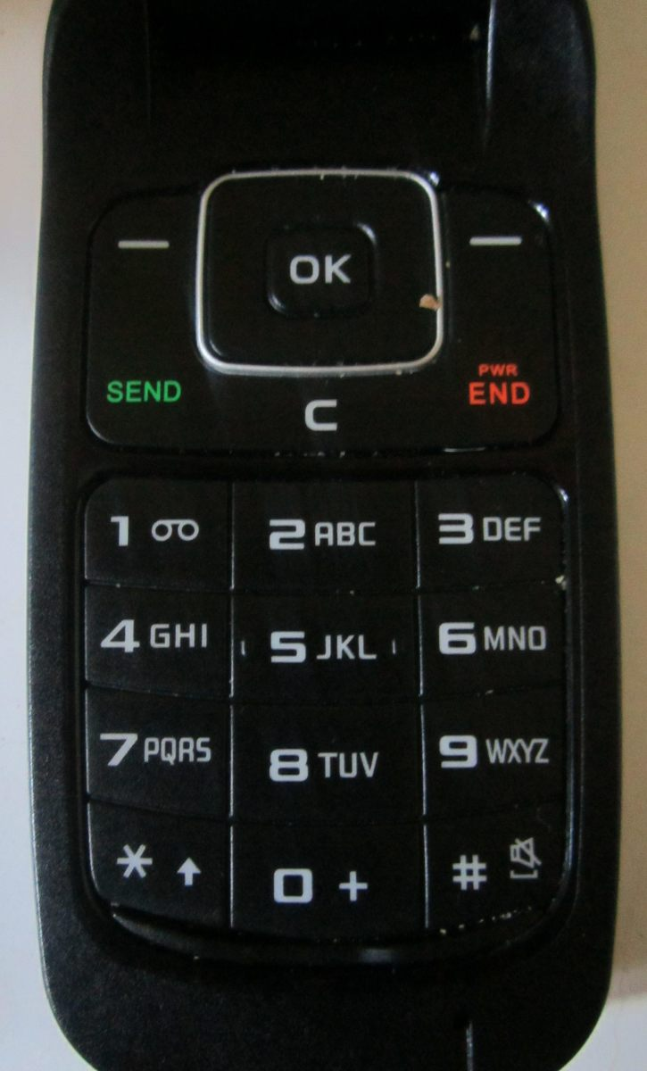 The keypad
