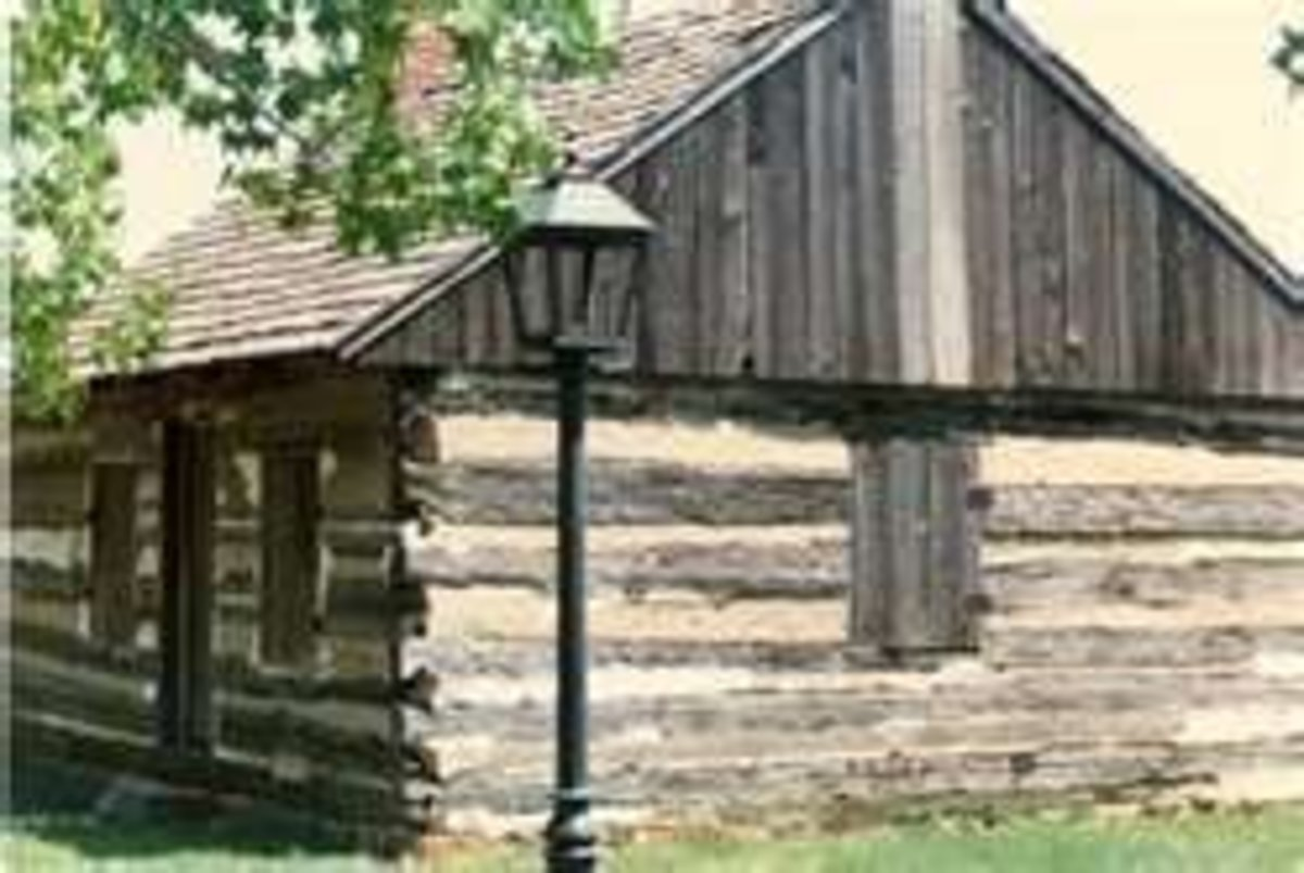 Image credit of log cabin display in Dover: http://www.stalcopfamily.com/