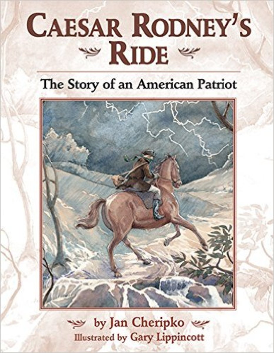 Caesar Rodney's Ride: The Story of an American Patriot by Jan Cheripko - Image credit: amazon.com