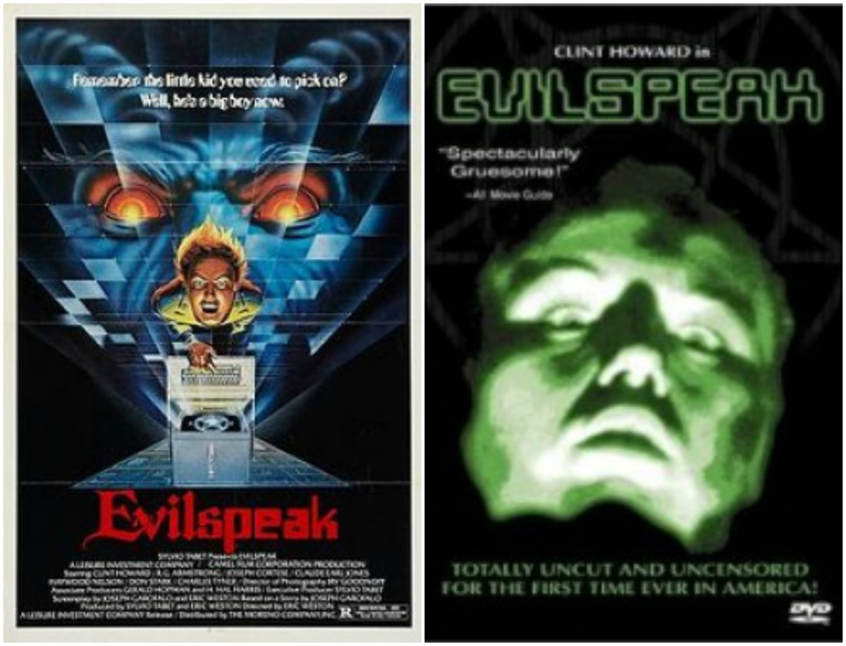 Left: original theatre poster / Right: DVD cover
