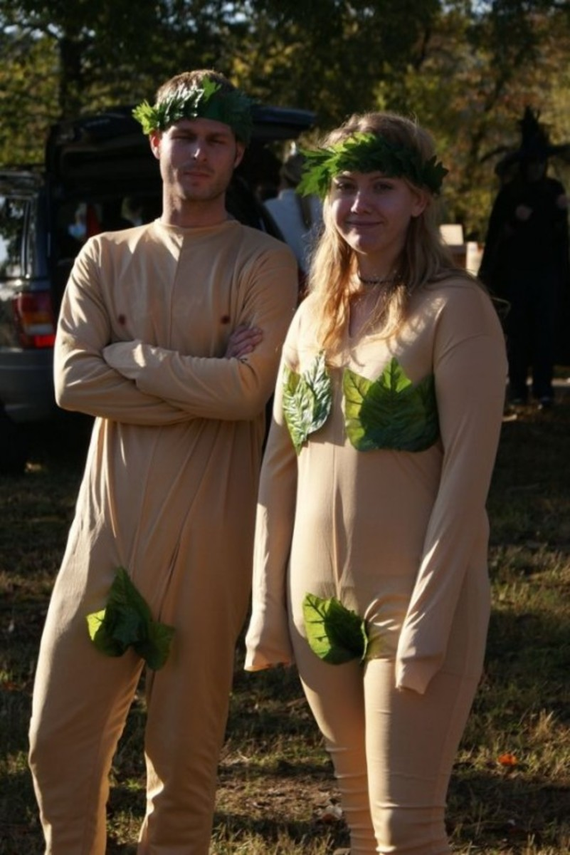 Adam and Eve - MudRun30 by ronbusbea,  [CC BY-SA 2.0] on Flickr
