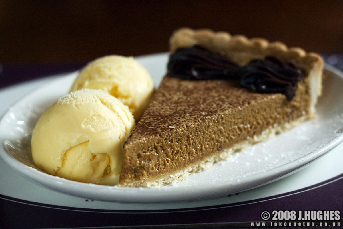 Gypsy Tart - A local Kentish recipe for a cheap but delicious sweet sticky tart from 1950s England.