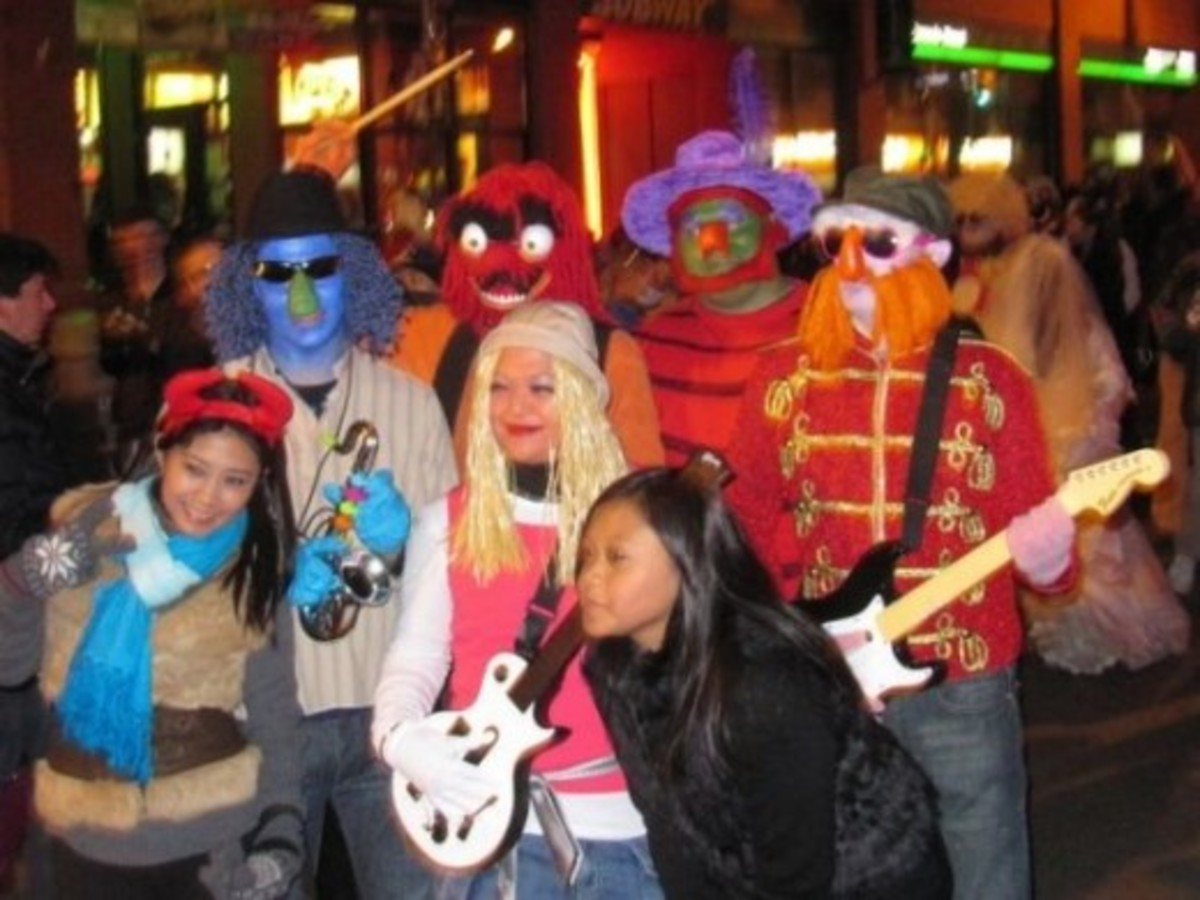 Electric Mayhem (The Muppet Show) Band group Halloweencostume