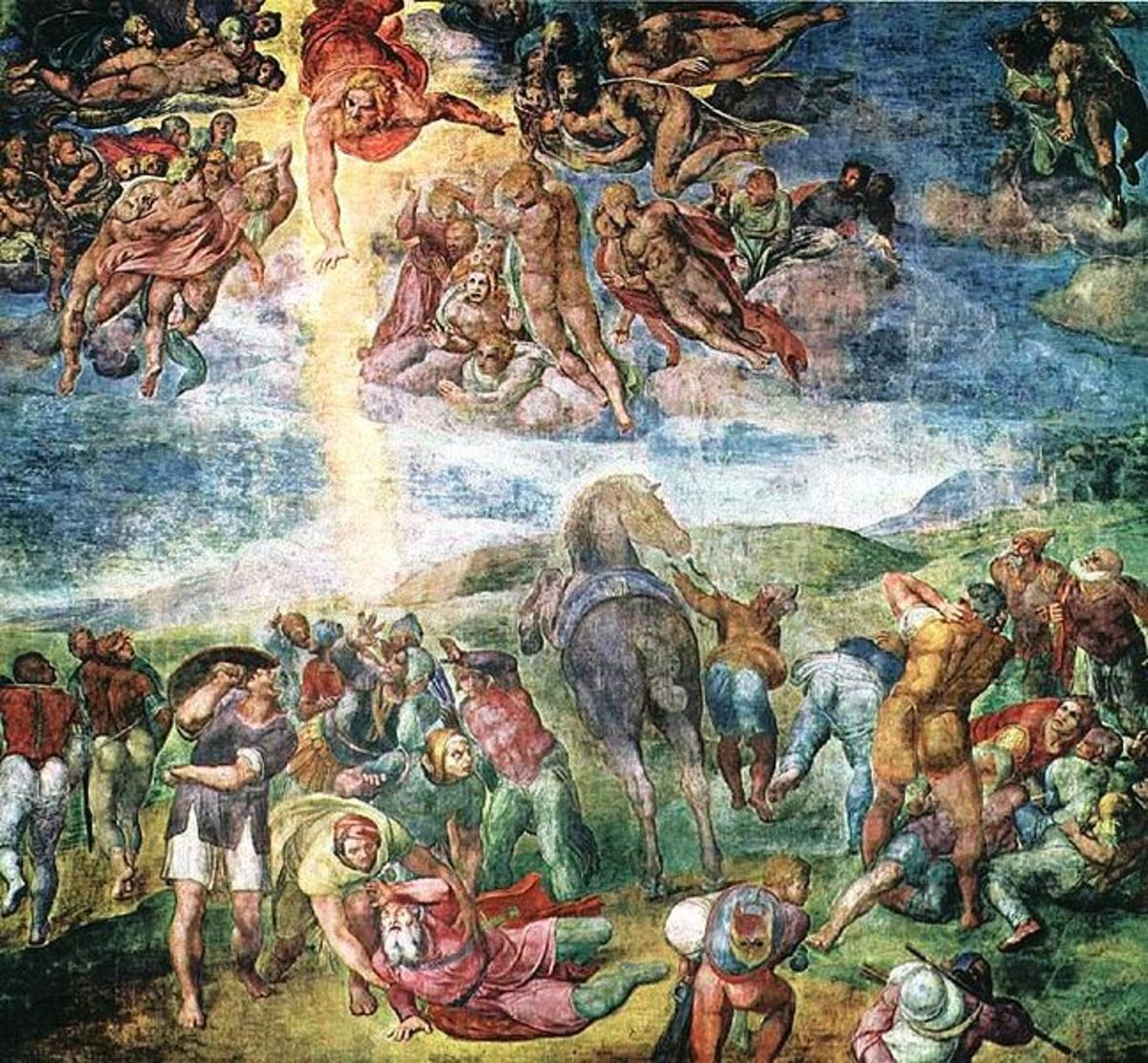 'The Conversion of St. Paul' by Michelangelo Buonarroti
