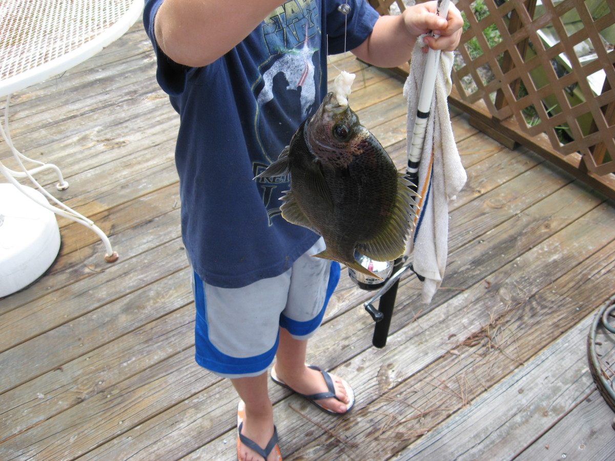 Jonathan always has a blast on fishing trips!