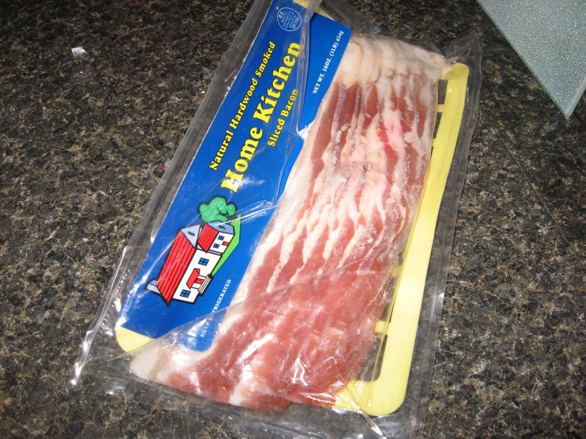 """Our """"secret weapon"""" yesterday was plain ol' bacon."""