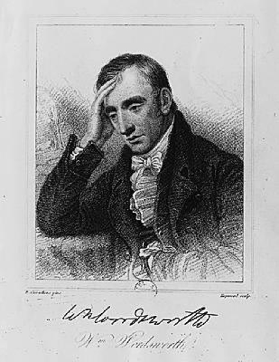 Wordsworth, fretting about his florist's shop