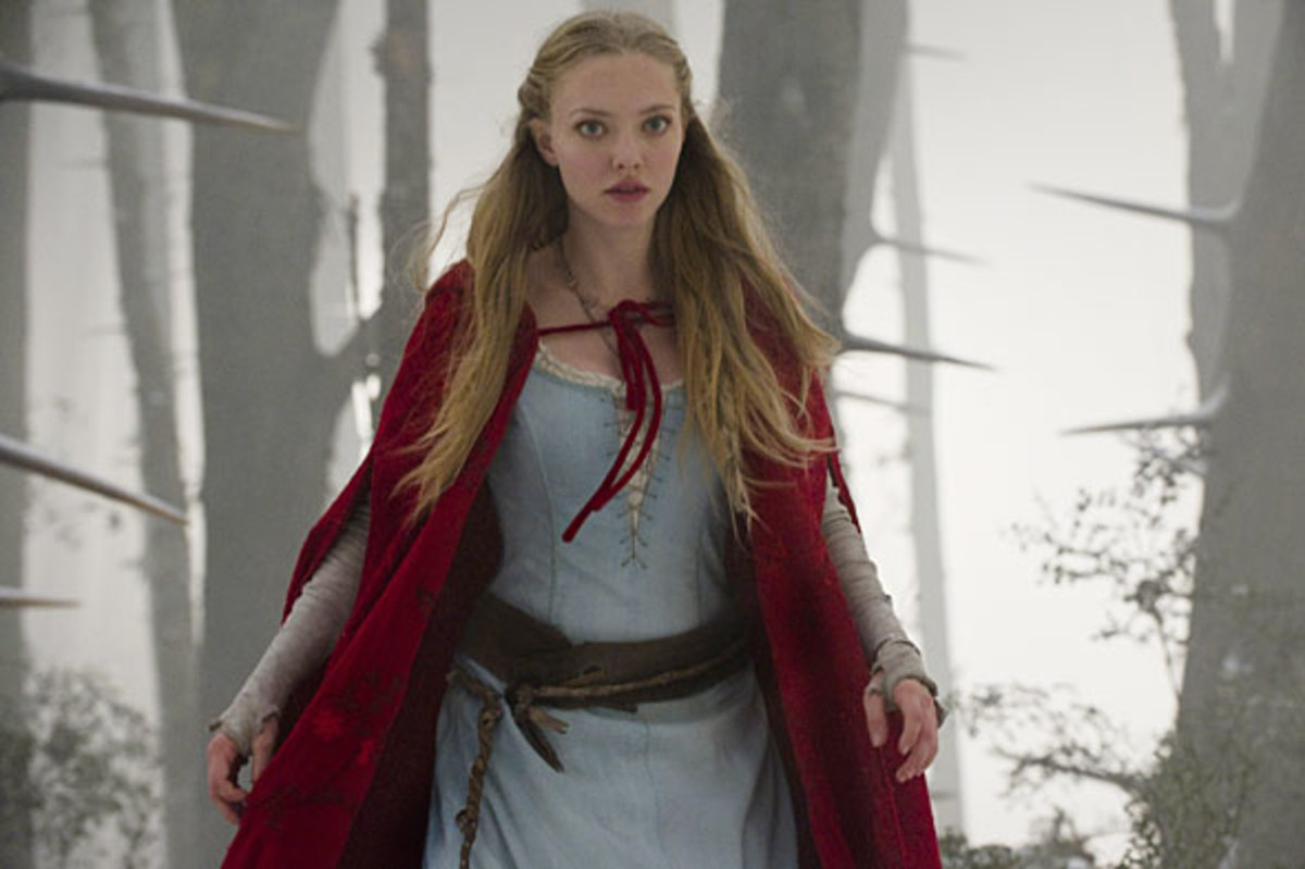 Red Riding Hood today (Amanda Seifert in the film of the same name)