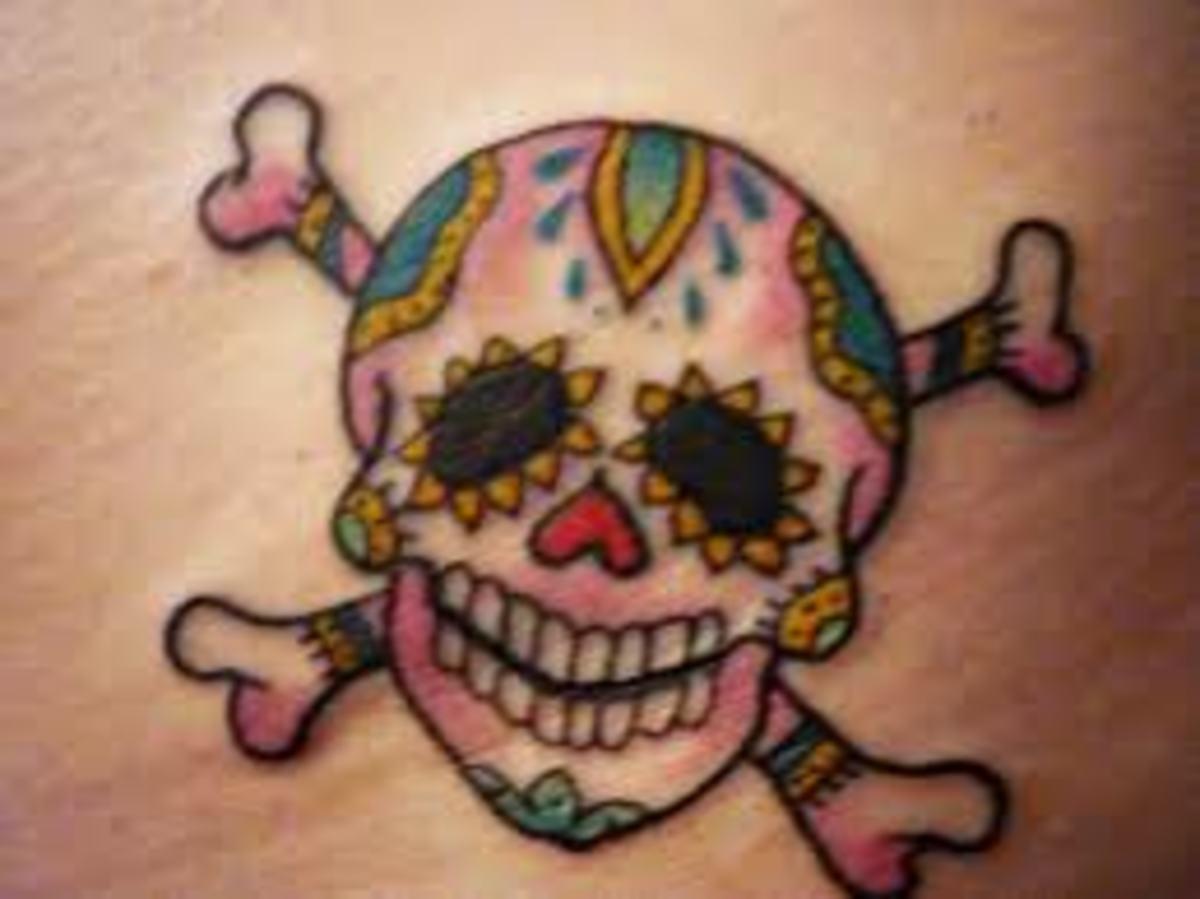 skull crossbone tattoos and meaningsskull crossbone