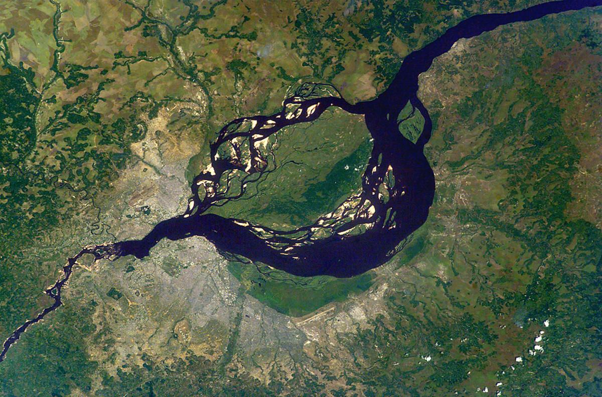 Congo River in Kinshasa
