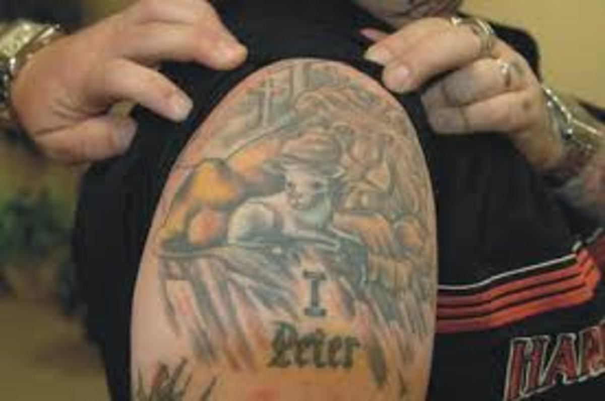 Todd Bentley S Tattoos Hubpages
