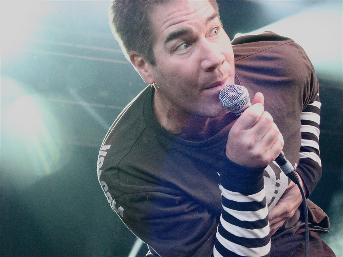 Mark Adkins of the pop-punk band Guttermouth