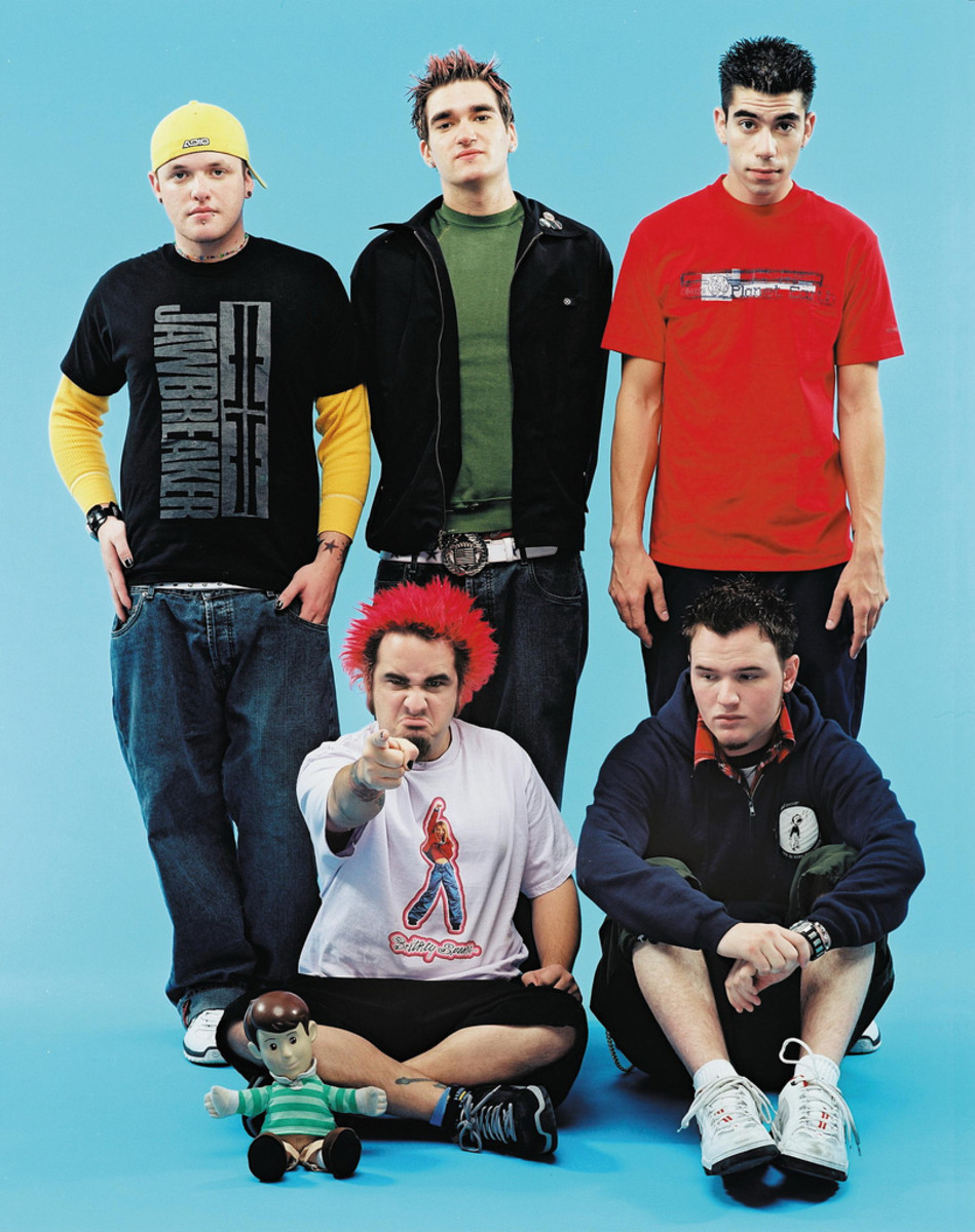 New Found Glory: an example 90s and early 2000s pop-punk style.