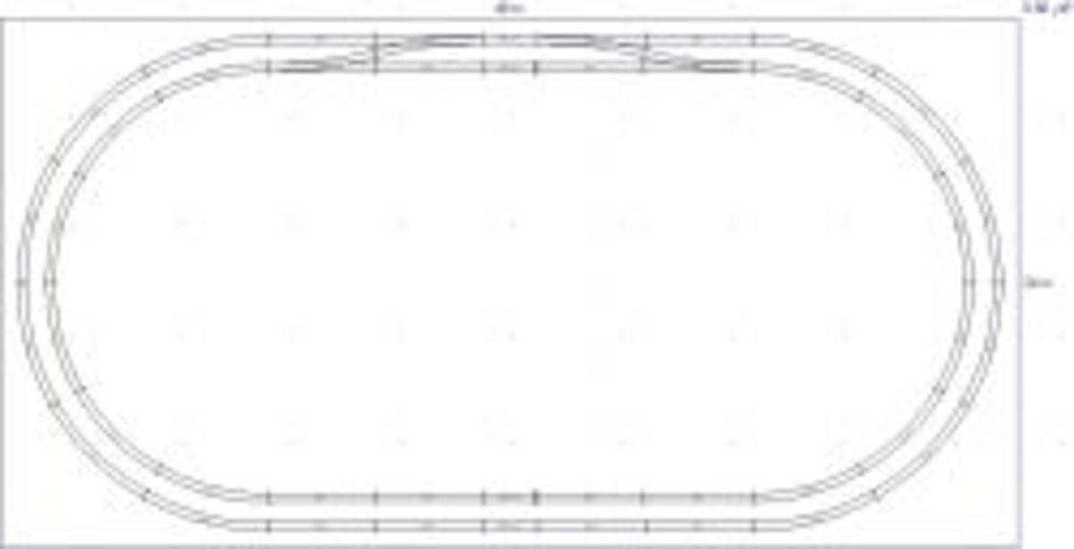 Atlas N-80 2x4 Double Oval
