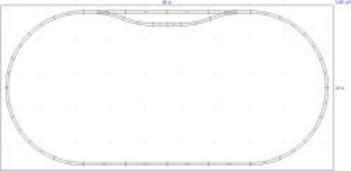 Atlas N-65 2x4 Double Oval
