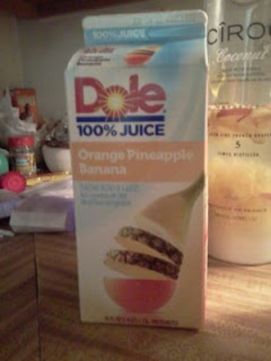 Dole Pineapple Juice works best.