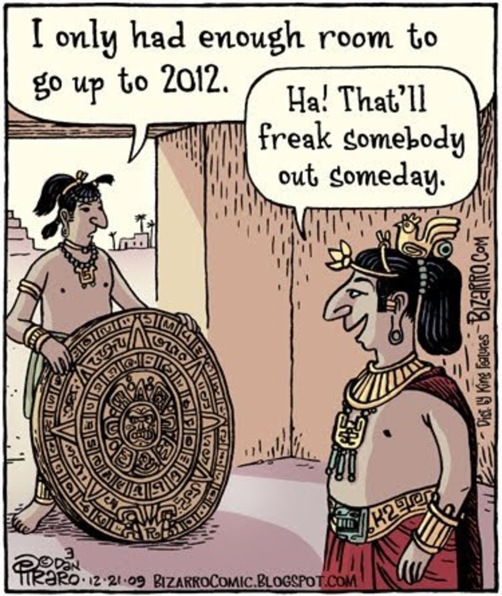 3 Days left in 2012 until the Mayan Apocalypse and the World comes to an END