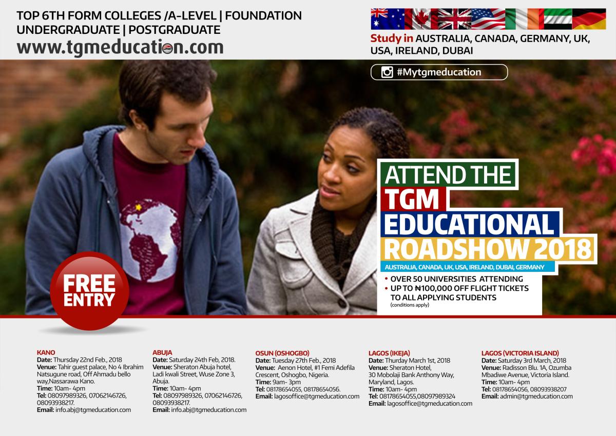 Roadshow to recruit international students