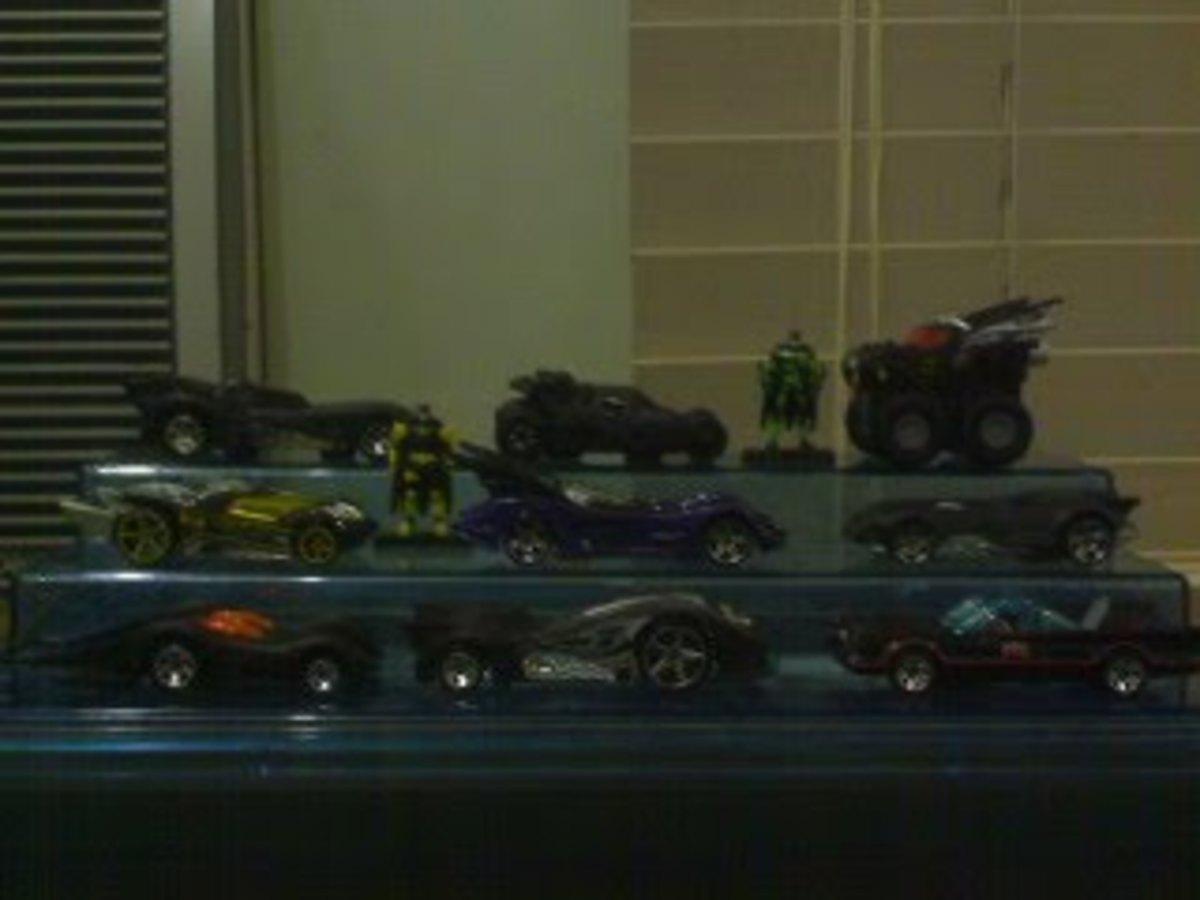 First Edition Hotwheels Batmobiles