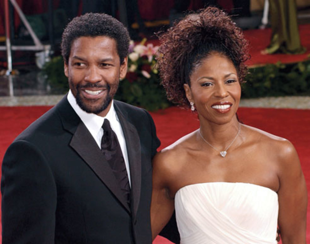 Denzel and his wife of almost 30 years, Pauletta