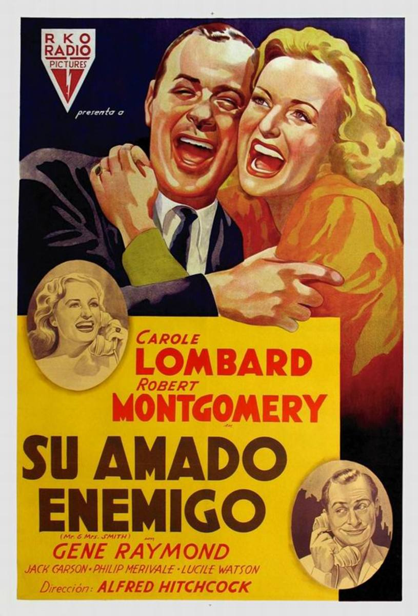 Mr. and Mrs. Smith (1941) Spanish poster