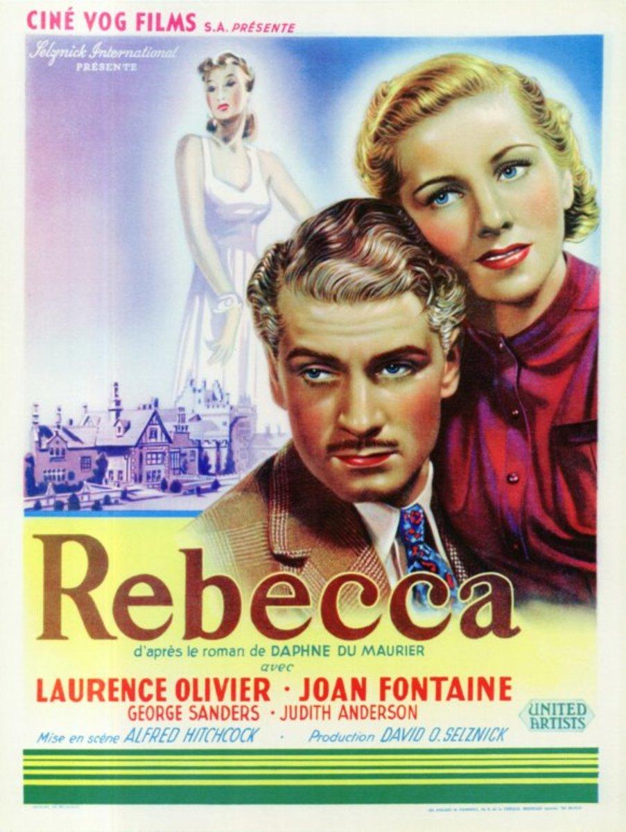 Rebecca (1940) Belgian poster