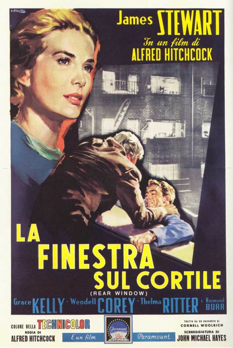 Rear Window (1954) Italian poster