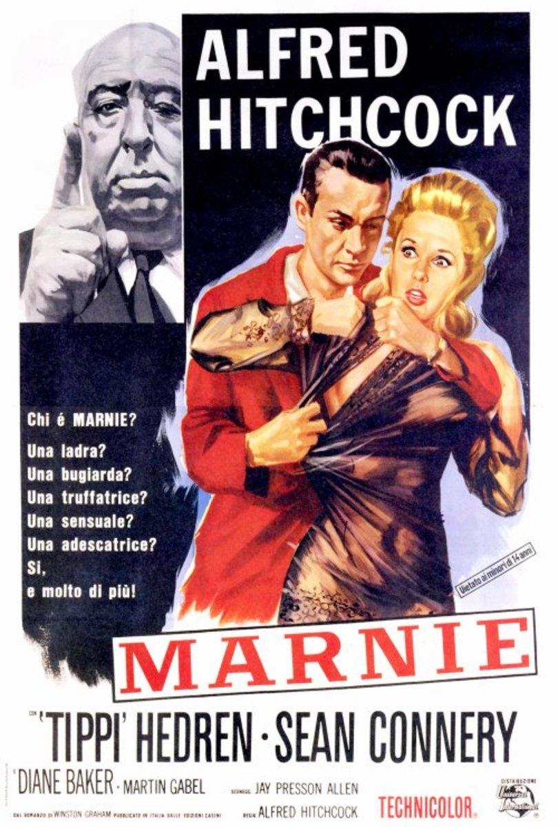 Marnie (1964) Italian poster