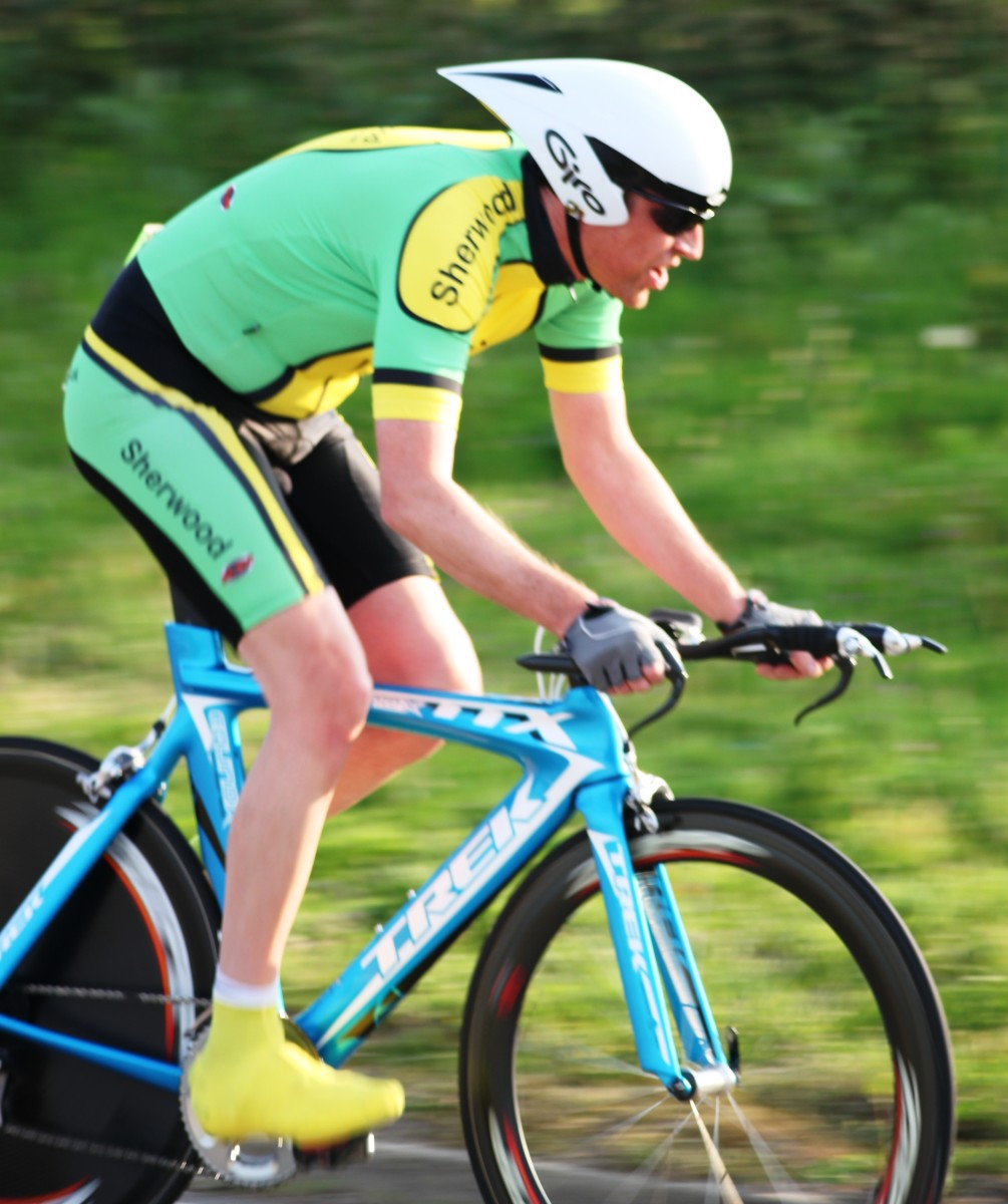 How To Photograph A Cycling Time Trial
