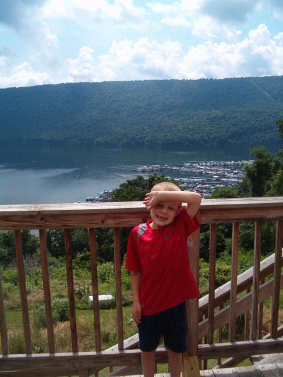 Enjoy the scenic views