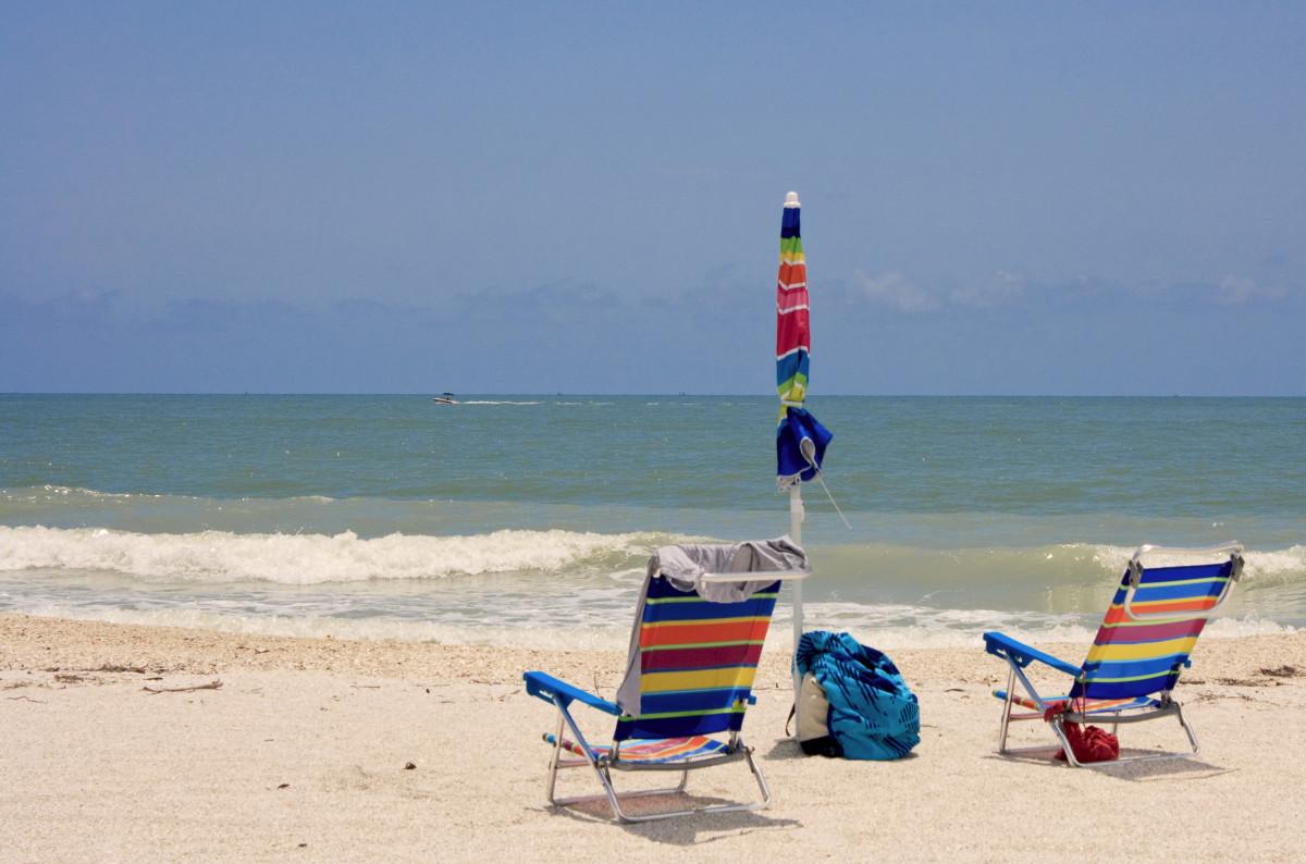 sand chairs