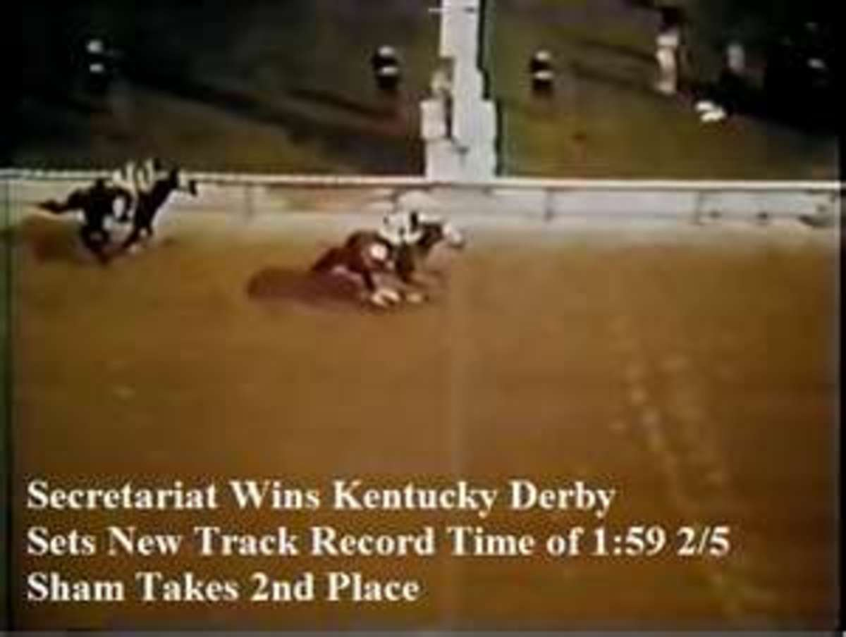 The Kentucky Derby win.