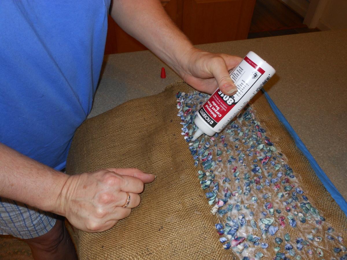applying seam sealer