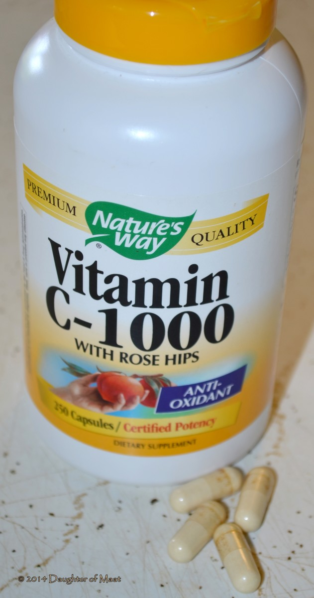 Vitamin C is available in several forms including chewable, tablet and capsules.