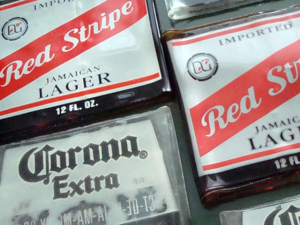Beer Bottle Coasters