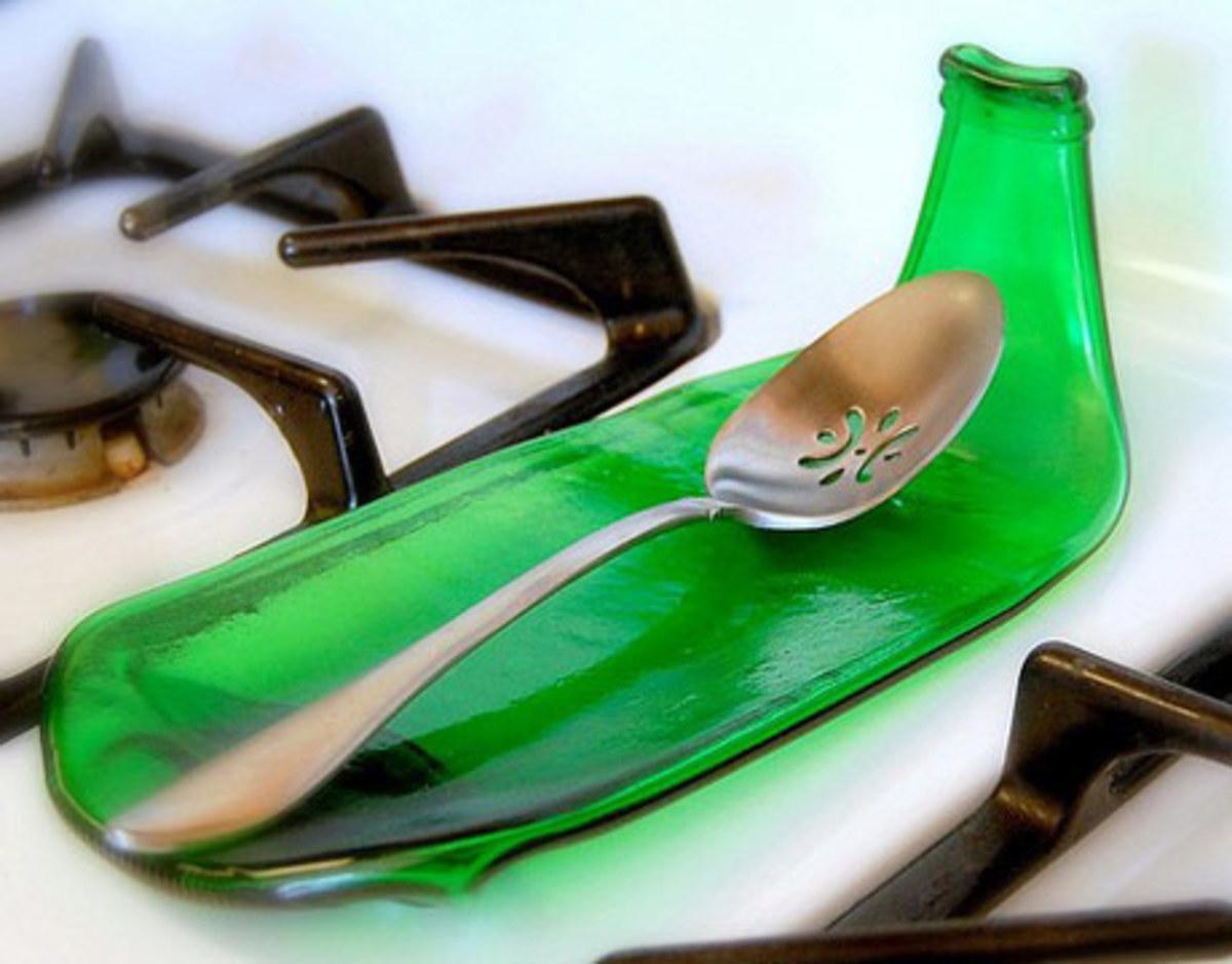 Beer Bottle Spoon Rest