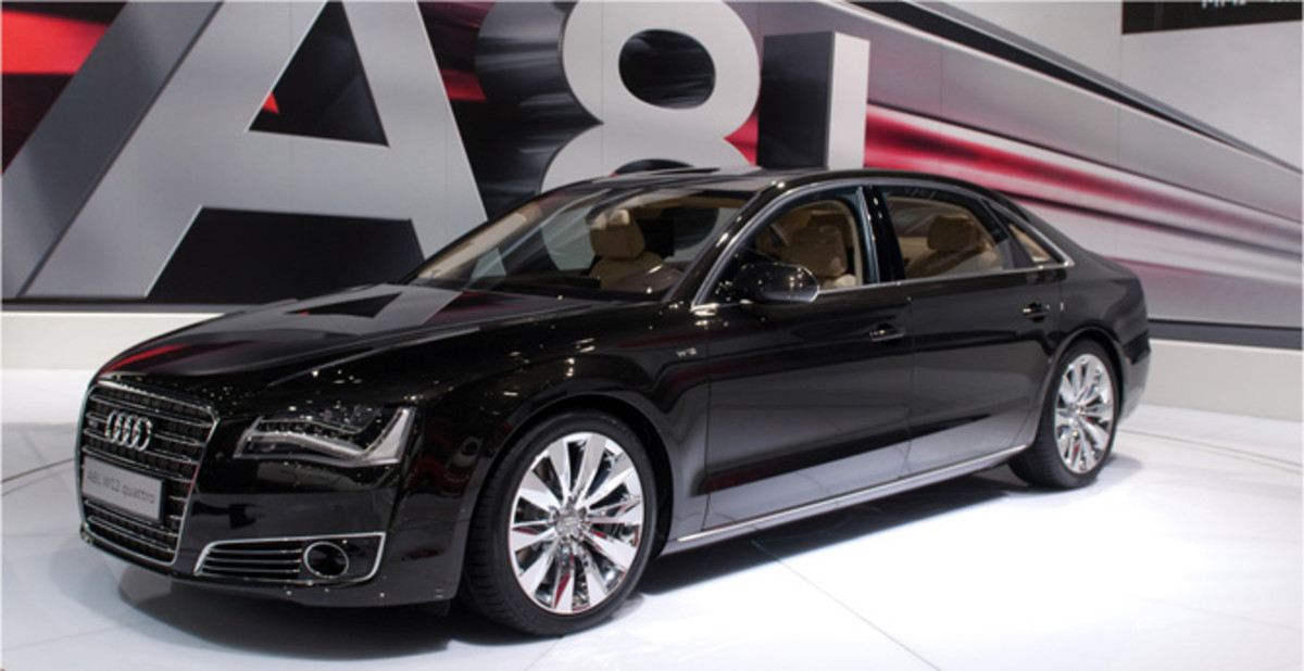 Audi A8 Best Luxury Cars: Top 5 Best Selling Audi Cars Ever