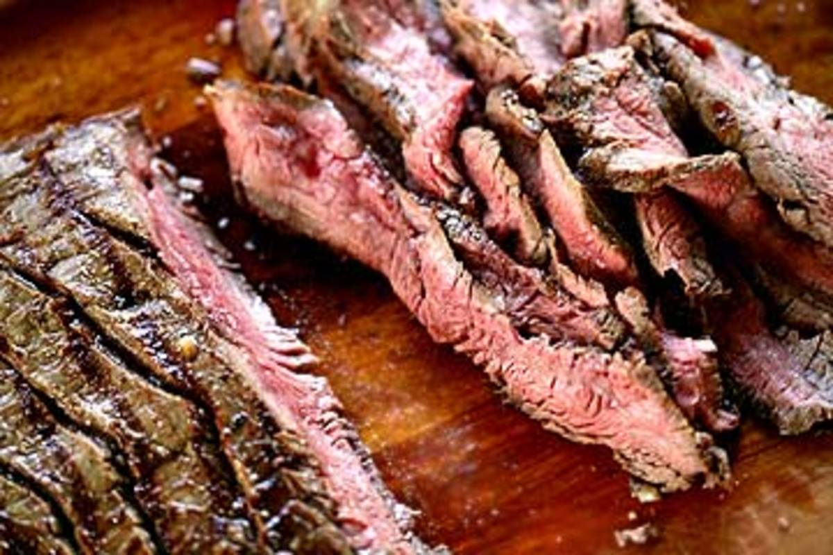 The Best Summer BBQ Grilled & Marinated Flank Steak