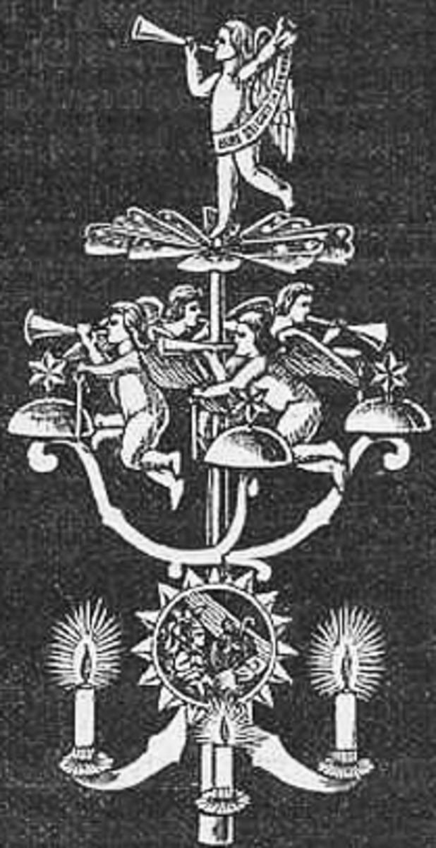 Angel chime 1906 - by Walter Stock (Berliner Illustrierte) [Public domain], via Wikimedia Commons