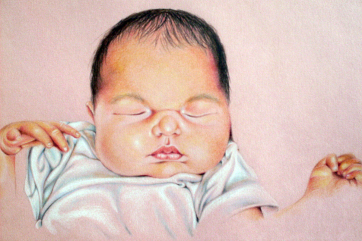Tips for drawing baby portraits